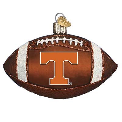 Tennessee Knoxville Football Ornament Merck Old World Christmas (Merck Familys Old World Christmas)