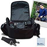 Jvc Camera Bag - Large Digital Camcorder Video Padded Carrying Bag Case For JVC Everio GZ VX815 GZ HD520 GV LS1 GC PX100 More M