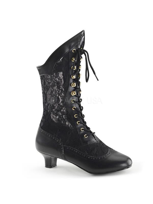DAME115/B/PU Funtasma Women's Boots BLACK Size: 11