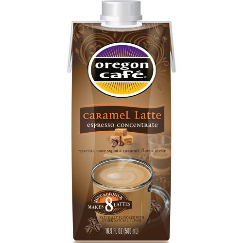 Oregon Cafe Caramel Latte Espresso Concentrate, 16.9 fl oz