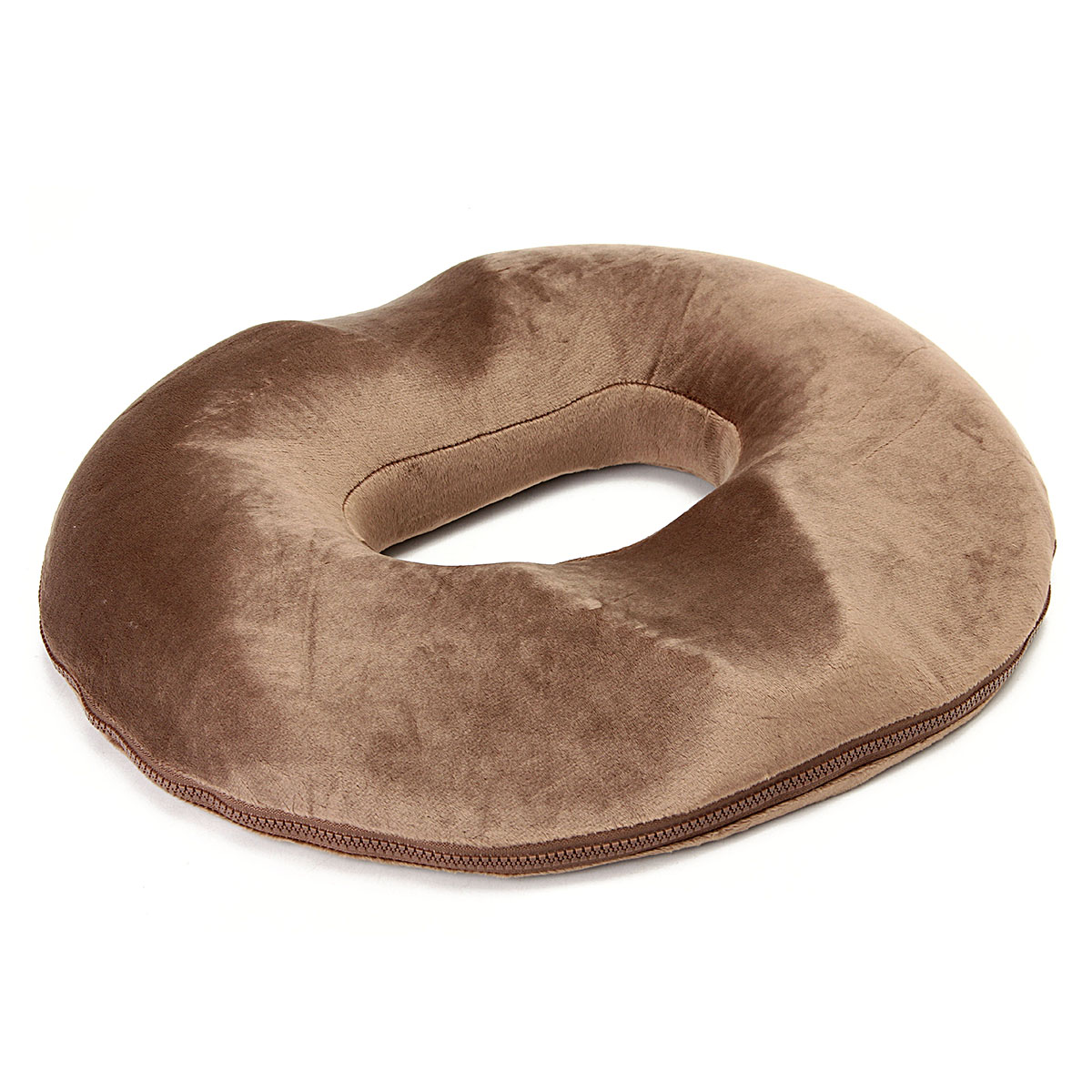 Grtsunsea 16''x17'' Memory Cotton Ring Donut Memory Foam Seat Cushion for Office Chair Car Seat