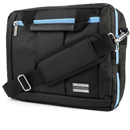 VANGODDY El Prado 3 in 1 Hybrid Backpack / Briefcase / Messenger Bag fits 14, 15, 15.6-inch Laptops Devices (Assorted Colors)