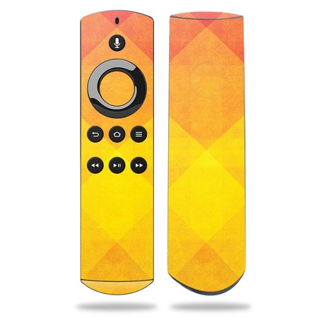 Skin for Amazon Fire TV Remote - Orange Texture| MightySkins Protective, Durable, and Unique Vinyl Decal wrap cover | Easy To Apply, Remove, and Change Styles | Made in the USA