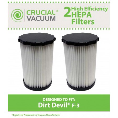 2 Dirt Devil F3 Washable HEPA Filter, Part # 3-250435-001 - image 1 of 1