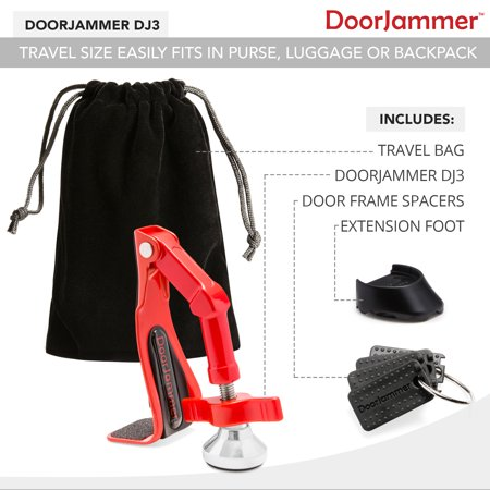Portable Door Closer Jammer Lock-Security Device