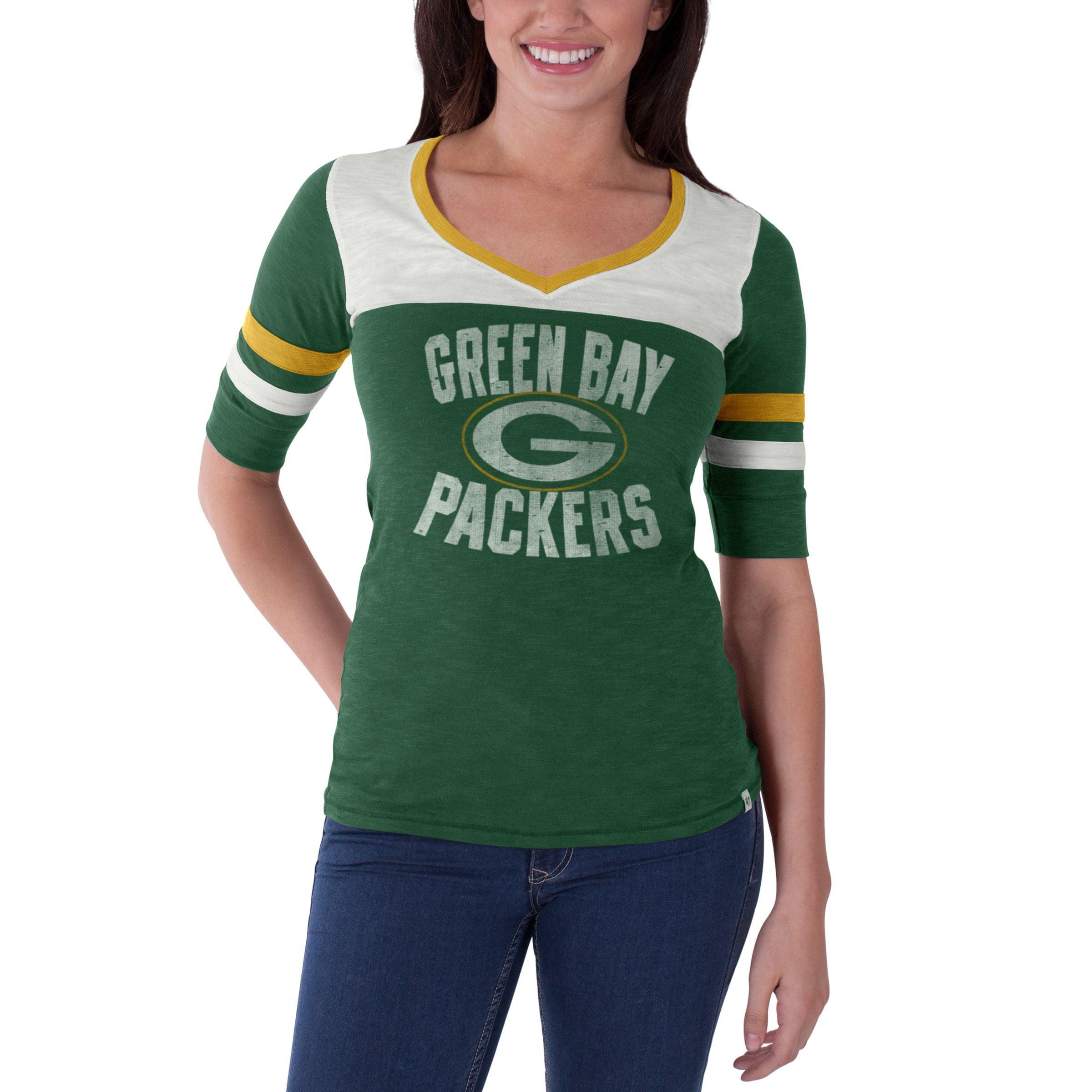 Green Bay Packers Pine Gameday Debut Women's Shirt