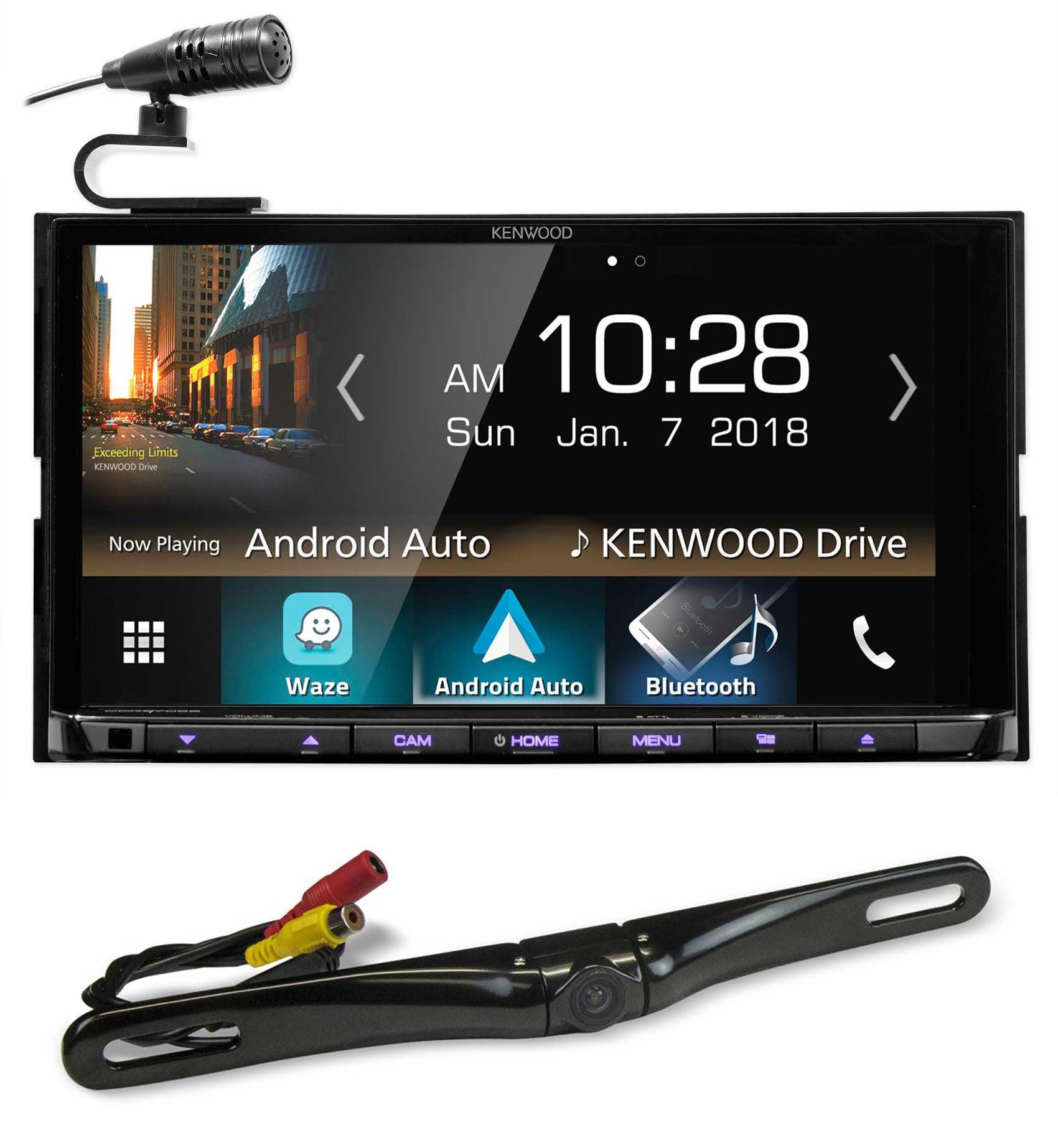 "Kenwood DDX9705S 6.95"" Navigation DVD Bluetooth Receiver+License Plate Camera"