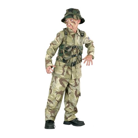 Boys Army / Marines Costume - Delta Force Halloween Costume - Galactic Marine Costume
