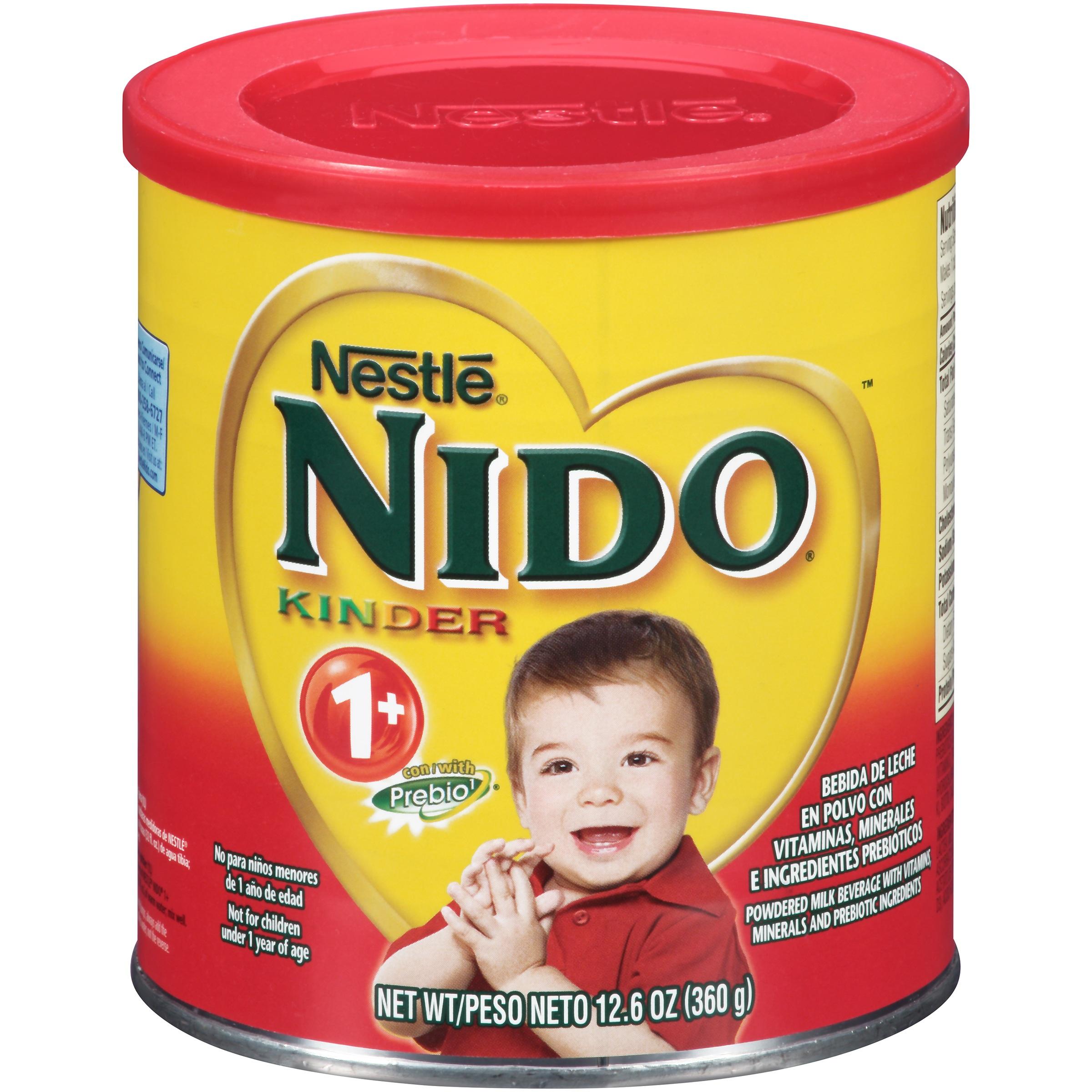NIDO Kinder 1+ Powdered Milk Beverage 12.6 oz. Canister