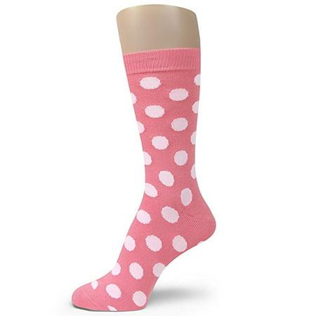 Spotlight Hosieryshades of PINK Men Groomsmen dress Socks (Hot Pink, Light Pink, Bright Pink, Regular