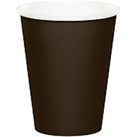 Brown Paper Cups (CPC BP508CCH 9 oz Chocolate Brown Paper Hot Cup, Case of 240 - 10 Case of)