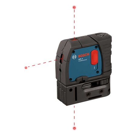 Bosch GPL3 3-Point Self-Leveling Alignment Laser Level (Certified Refurbished)