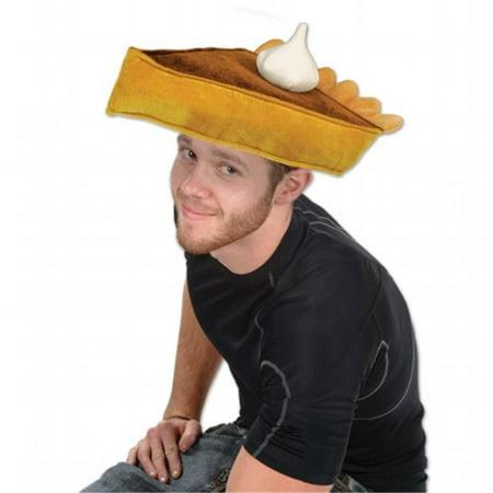 Pumpkin Pie Hat (mpany  Plush Pumpkin Pie Hat - Pack of)