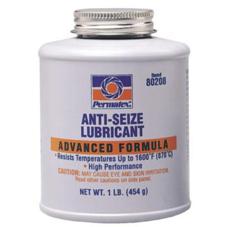 Anti-Seize Lubricants, 16 oz Brush Top Bottle
