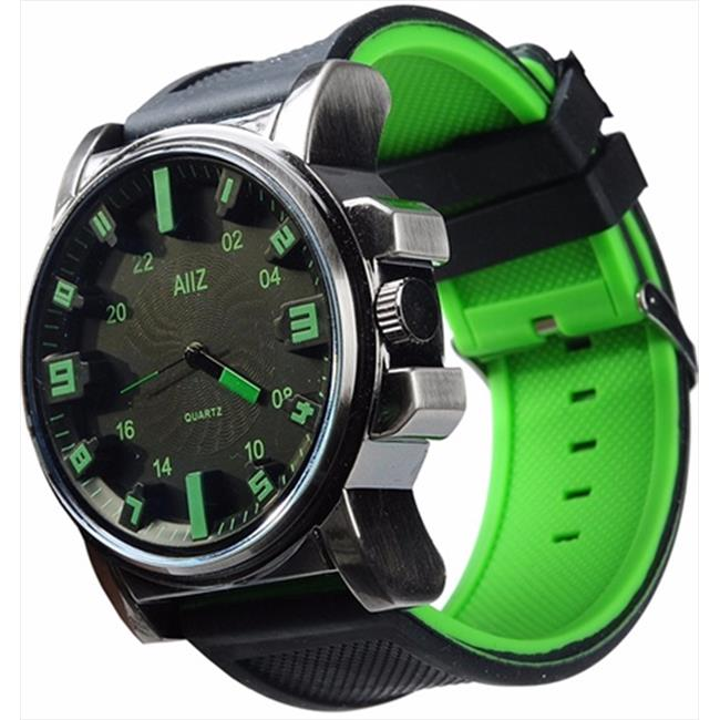 Mad Style 6204C Green Mm Big Boy Watch