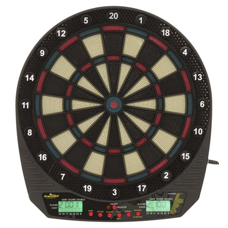 Arachnid DarTronic Soft Tip Electronic Dartboard Game Features 26 Games with 115 Options and includes 6 Soft Tip