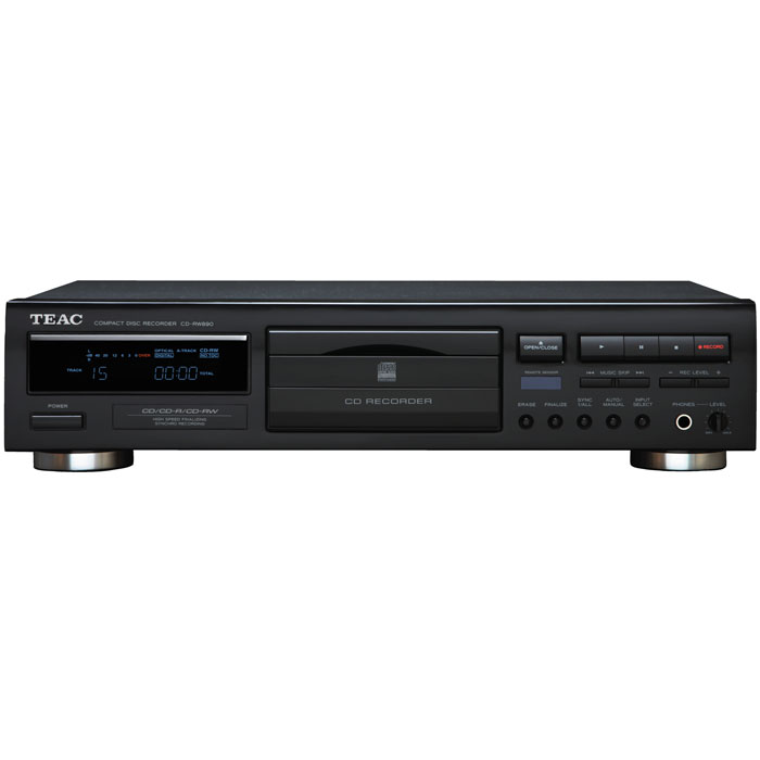 TEAC CD-RW890 Digital CD-R/RW CD Player Audio Recorder Sh...