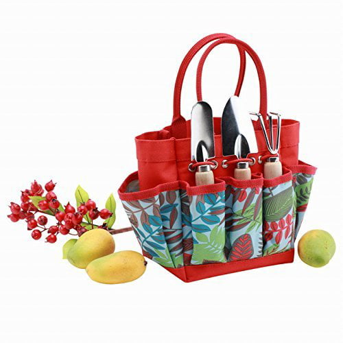 Kids Garden Tool Set with Tote by Garden Tools