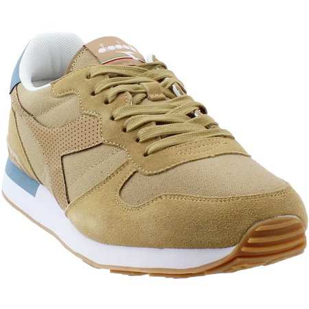 Diadora Mens Camaro Canvas Suede Casual Athletic & Sneakers ()