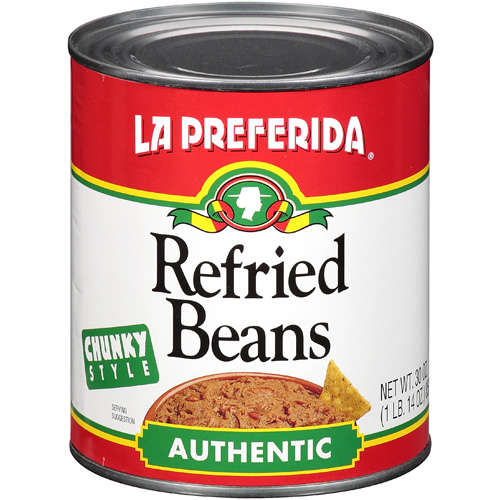 LA PREFERIDA BEAN REFRIED AUTHTC-30 OZ -Pack of 12