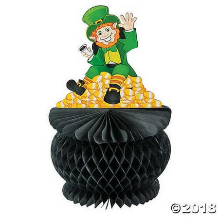 - St. Pat's Pot of Gold Tissue Paper Centerpiece