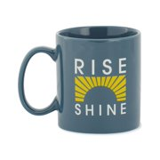 Life is good Unisex Adult Rise And Shine Sun Rays Jake's Mug