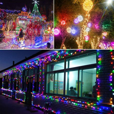 330ft 800 Led Outdoor Christmas Lights Multicolored Super Long Halloween String Lights 8 Lighting Modes Twinkle Fairy Lights For Bedroom Wedding Garden Patio Gathering Party Decor Ul Listed Walmart Canada