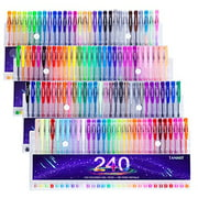 Best Gel Pens For Adult Coloring Books - Tanmit 240 Gel Pens Set for Adults Coloring Review