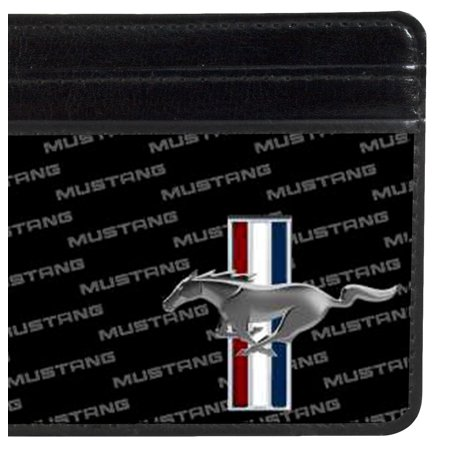 Weekend Wallet - Ford Automobile Company Mustang Name Striped Logo Weekend Wallet