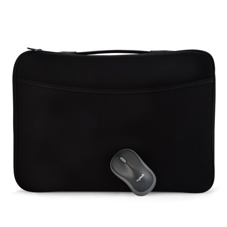"""Logitech 16"""" Laptop Sleeve with M185 Mouse"""