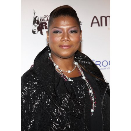 Queen Latifah At Arrivals For The Fourth Annual 2009 Black Girls Rock Awards The Times Center New York Ny October 17 2009 Photo By Rob KimEverett Collection Photo Print