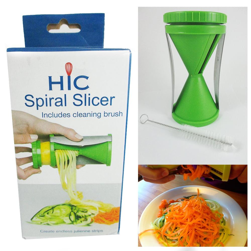 Vegetable Spiral Slicer Fruit Cutter Peeler Kitchen Spiralizer Twister Grater !