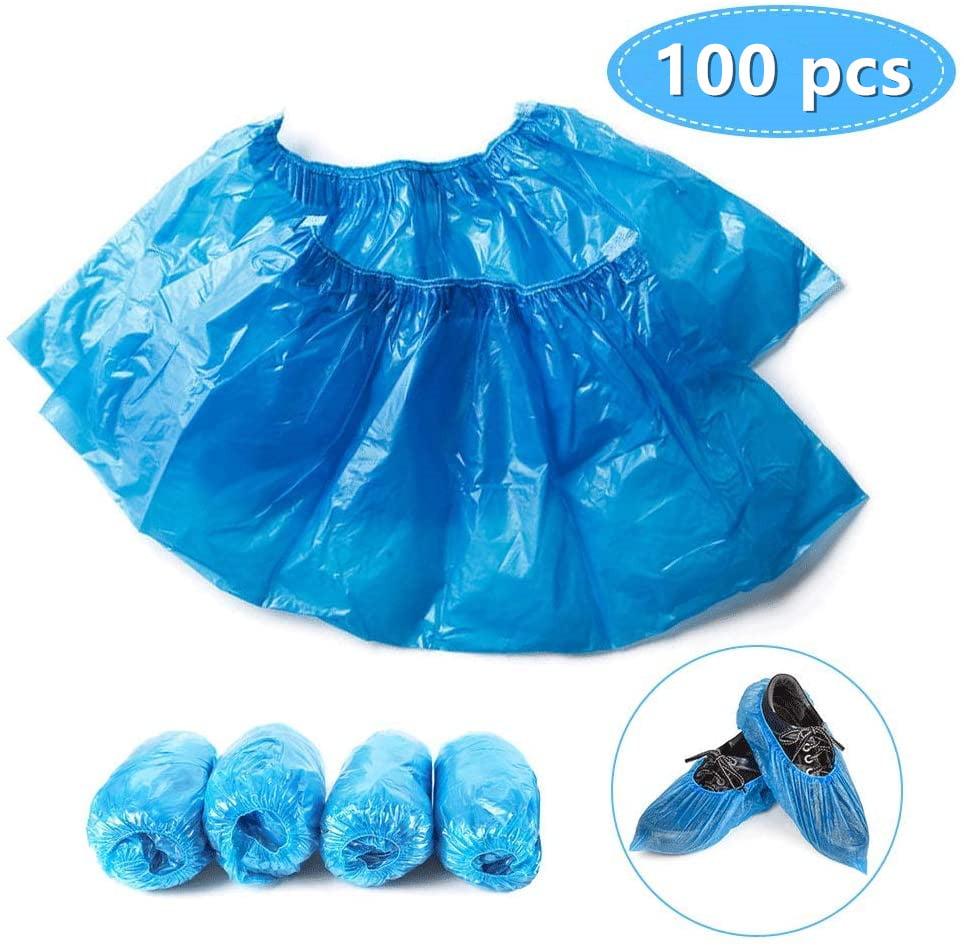 100 Pieces Disposable Shoe Covers