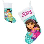 Personalized Dora and Friends Let it Snow Stocking