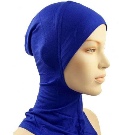 Under Scarf Hat Cap Bone Bonnet Ninja Hijab Islamic Neck Cover Muslim Hat L38