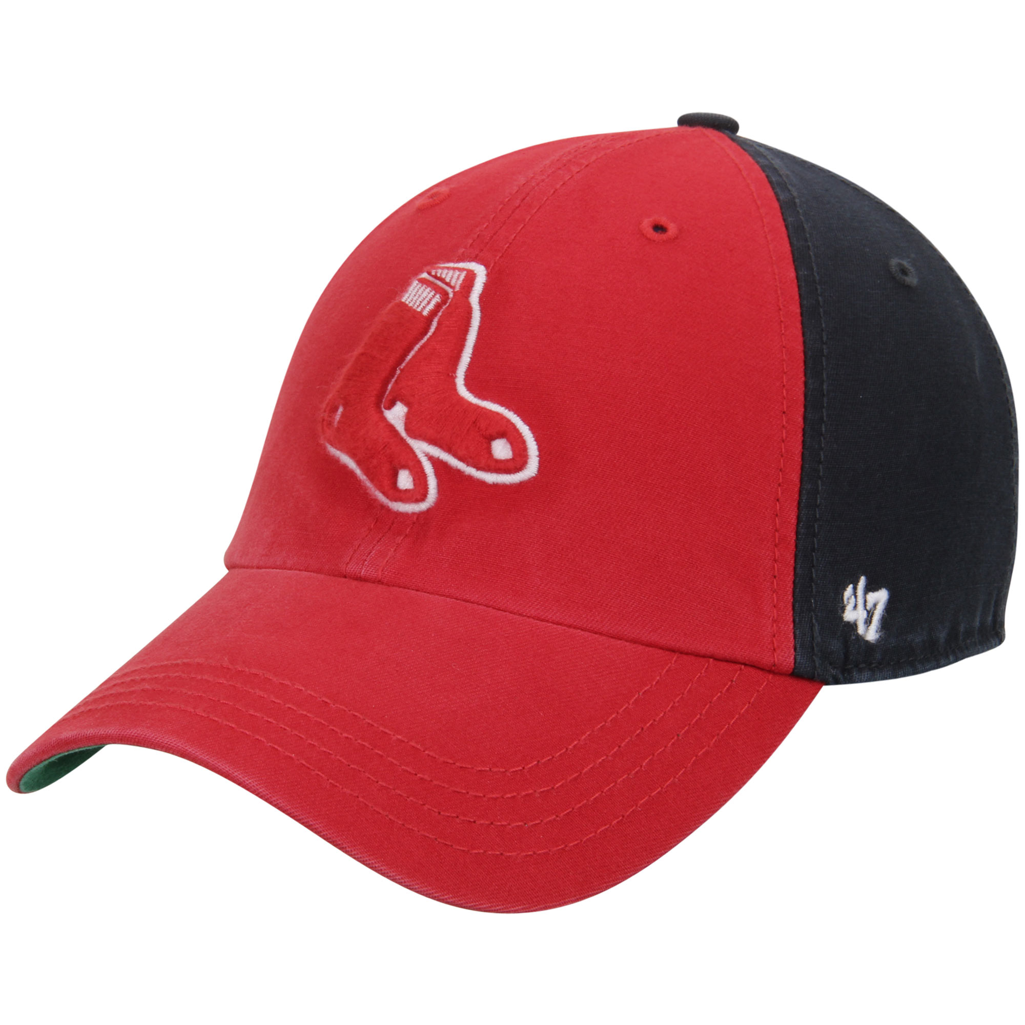 Boston Red Sox '47 Flagstaff Clean Up Adjustable Hat - Red/Navy - OSFA