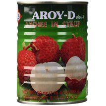 Canned Fruit: Aroy-D Lychee in Syrup