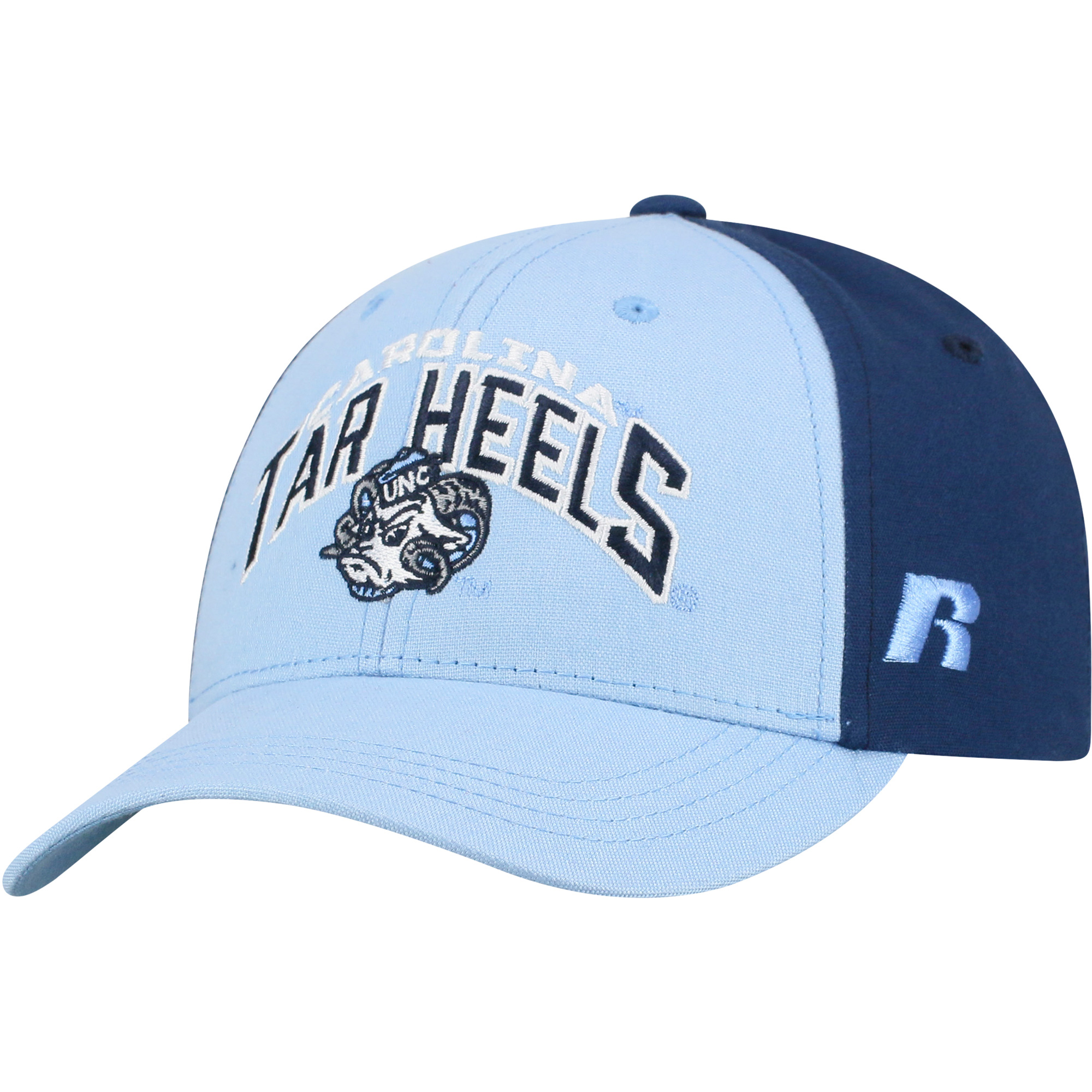 Youth Russell Carolina Blue/Navy North Carolina Tar Heels Tastic Adjustable Hat - OSFA