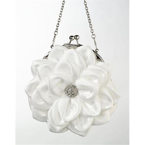 Flower Purse, Creamy White