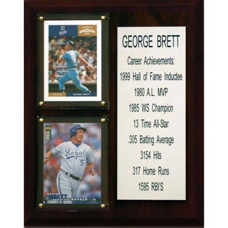 George Brett Memorabilia (C&I Collectables MLB 8x10 George Brett Kansas City Royals Career Stat)