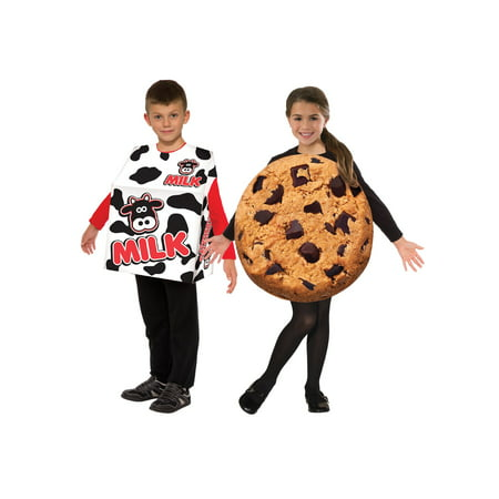 Kids Milk and Cookies Costume Set - Milk Carton Costume