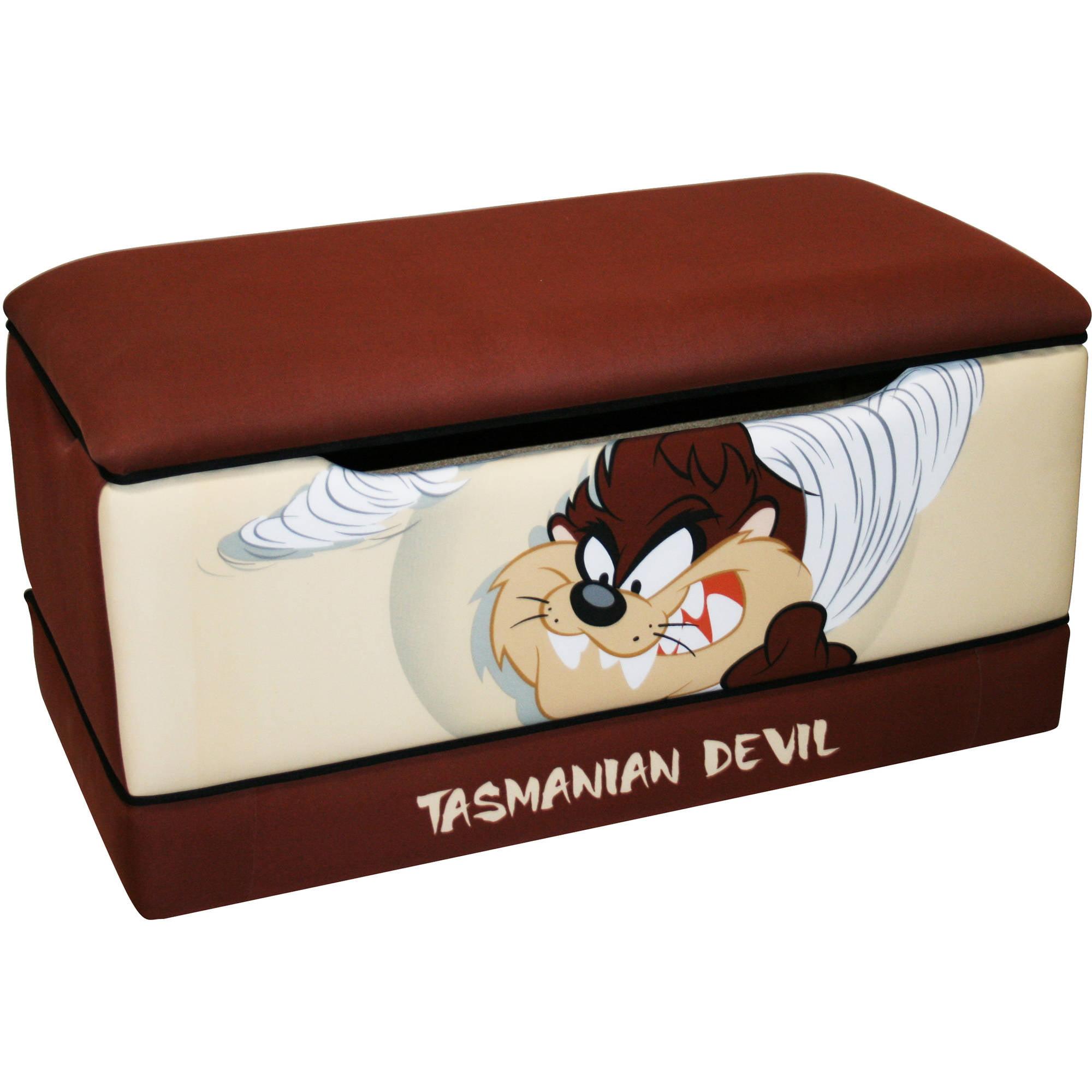 """Warner Brothers - """"TAZ"""" Tasmanian Devil Toy Box"""