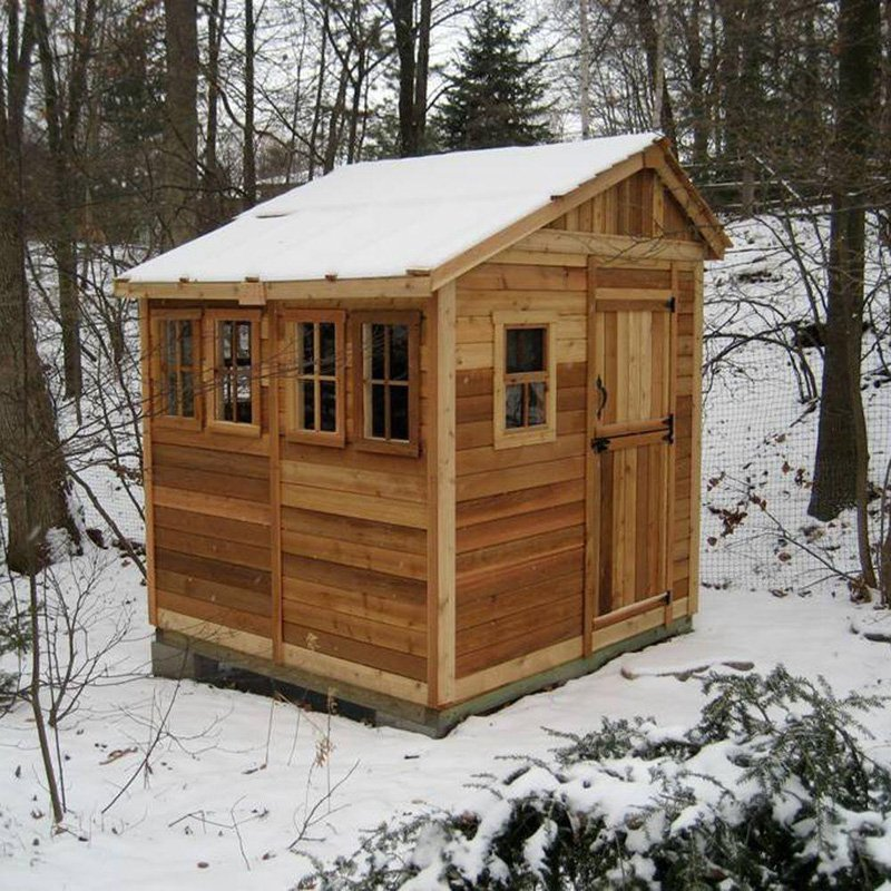 Outdoor Living Today SSGS88 Sunshed 8 x 8 ft. Garden Shed by Outdoor Living Today
