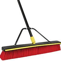 Quickie 00635SU Push Broom, Cushion-Grip Handle ()