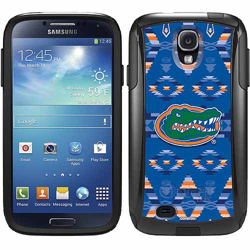 University of Florida Tribal Design on OtterBox Commuter Series Case for Samsung Galaxy S4
