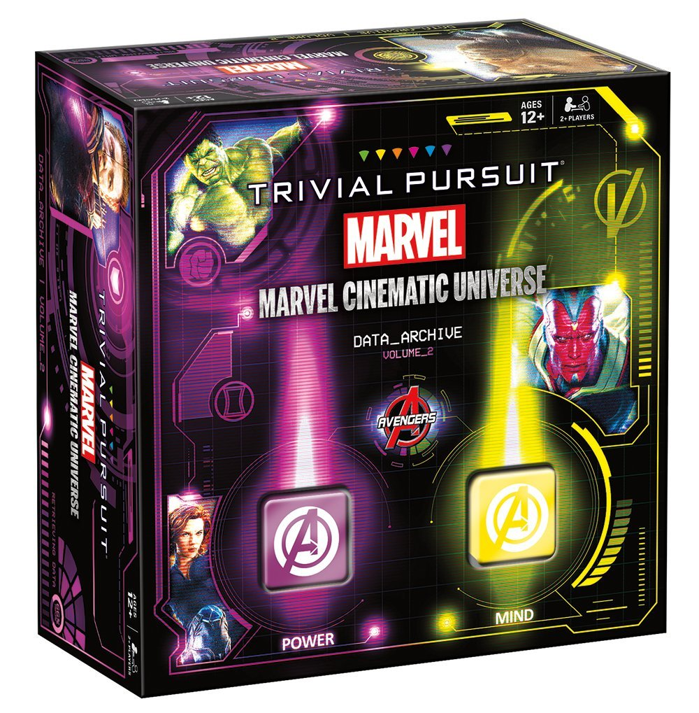 Trivial Pursuit Marvel Cinematic Universe Volume 2 Game, Trivia from Marvel Movies! By USAopoly by