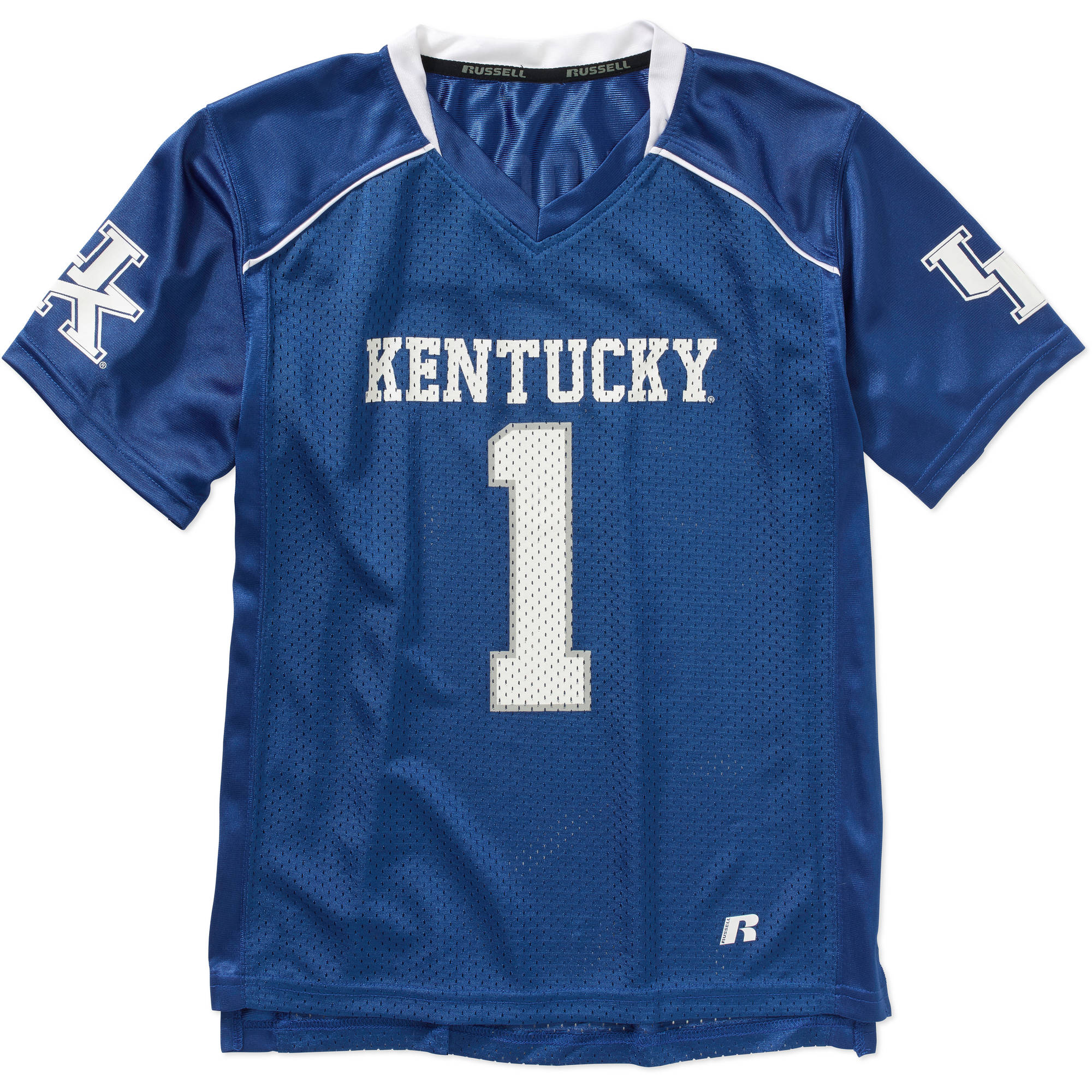 Russell NCAA Kentucky Wildcats Boys Short Sleeve Replica Jersey