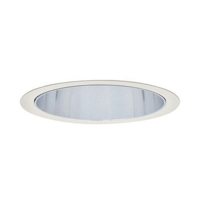 Lightolier 2013CD 3-3/4 Inch Down Light Cone Reflector Trim Round Clear Diffuse Lytecaster