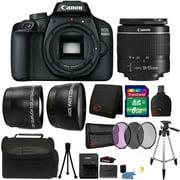 Canon EOS 4000D 18MP Digital SLR Camera 18-55mm Lens Premium Kit