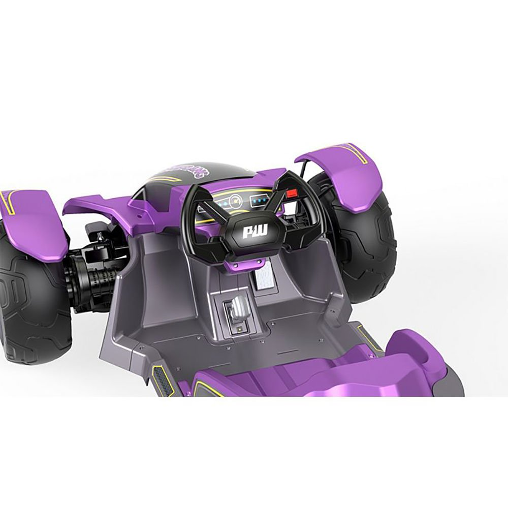 Power Wheels Kids Electric 12 Volt Mini ATV Boomerang Ride On Toy Car, Purple by Power Wheels